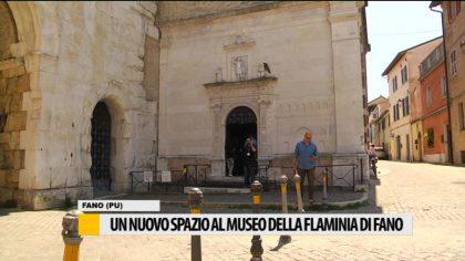 Un nuovo spazio al museo della Flaminia di Fano