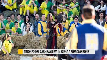 Trionfo del carnevale, va in scena a Fossombrone
