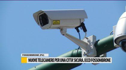 Nuove telecamere per una città sicura, ecco Fossombrone