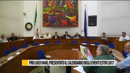 Pro loco Fano, presentato il calendario degli eventi estivi 2017