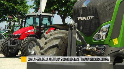 Con la Festa della Mietitura si conclude la settimana dell'agricoltura  – VIDEO