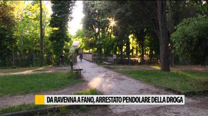 Da Ravenna a Fano, arrestato pendolare della droga – Video