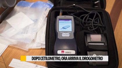 Dopo l'etilometro, ora arriva il Drogometro  -Video