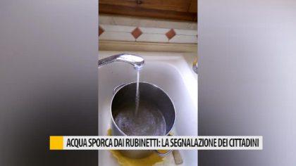Acqua sporca dai rubinetti: la segnalazione dei cittadini