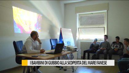 I bambini di Gubbio alla scoperta del mare fanese – VIDEO