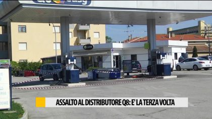 Assalto al distributore q8: è la terza volta – Video