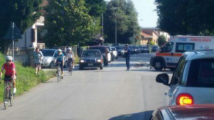 Fano, scooter contro bici. Feriti un uomo e una donna