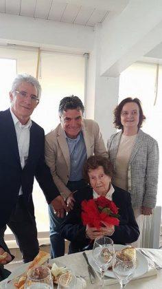 I 100 anni della signora Elena