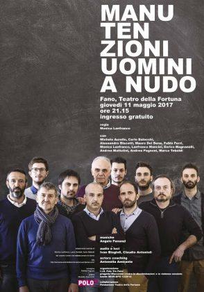"""Dieci """"Uomini a nudo"""" in scena a Fano per il teatro sociale"""