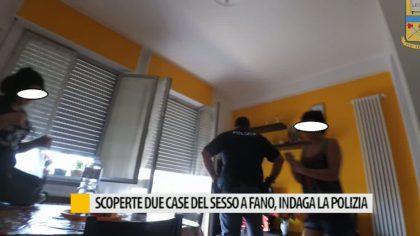 Scoperte due case del sesso a Fano, indaga la polizia