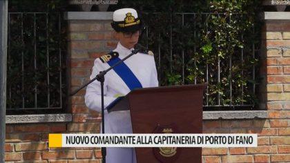 Nuovo comandante alla capitaneria di porto di Fano