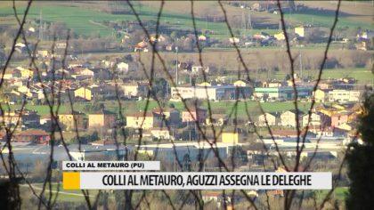 Colli al Metauro, Aguzzi assegna le deleghe