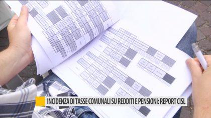 Incidenza di tasse comunali su redditi e pensioni: report cisl