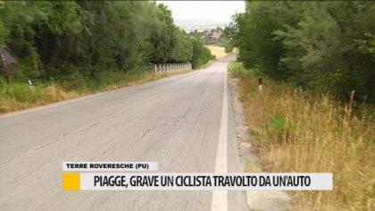 Piagge, grave un ciclista travolto da un' auto