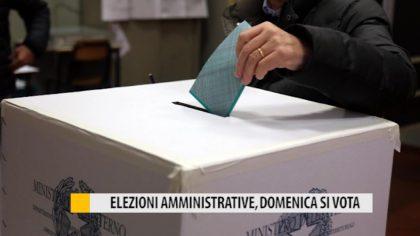 Elezioni amministrative, domenica si vota