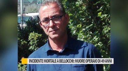 Incidente mortale a Bellocchi: muore operaio di 49 anni
