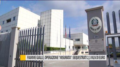 """Fiamme gialle, operazione """"misurata"""": sequestrati oltre 2,3 mln di euro"""