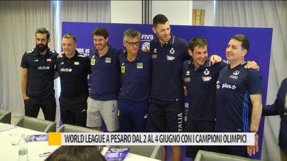 World league a Pesaro, dal 2 al 4 Giugno con i campioni olimpici