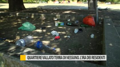 Quartiere Vallato terra di nessuno. L'ira dei residenti – VIDEO
