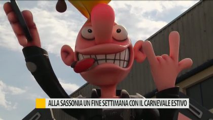 Alla Sassonia di Fano un fine settimana con il Carnevale Estivo – VIDEO
