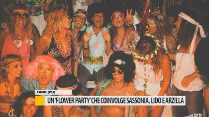 Un Flower Party che coinvolge Sassonia, Lido e Arzilla