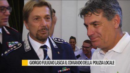 Giorgio Foligno lascia il comando della polizia locale