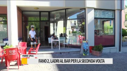 Fano 2, ladri al bar per la seconda volta