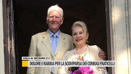 Dolore e rabbia per la scomparsa dei coniugi Fraticelli