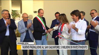 Nuovo padiglione al San Salvatore: 5 Milioni di investimento