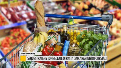 Sequestrate 45 tonnellate di pasta dai carabinieri forestali