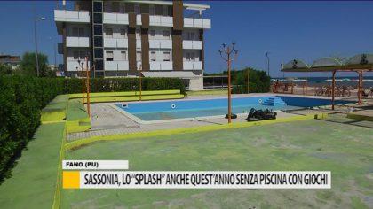 """Sassonia, lo """"splash"""" anche quest'anno senza piscina con giochi"""