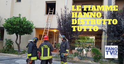 A fuoco appartamento in via Soncino. Bambina dà l'allarme e scappa