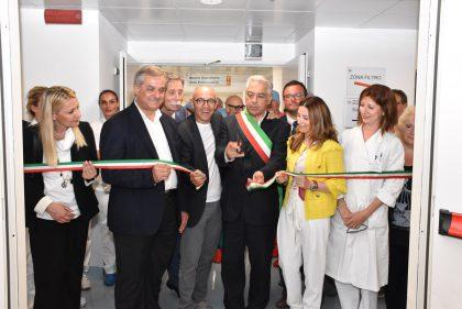 Santa Croce di Fano, inaugurati il Blocco operatorio e il Polo endoscopico