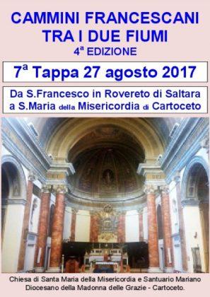 Settimo Cammino Francescano tra i due fiumi