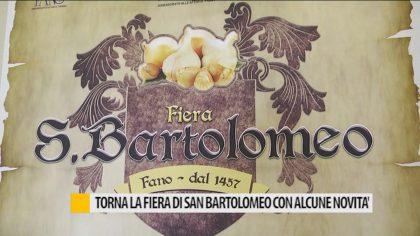 Torna la Fiera di San Bartolomeo con alcune novità – VIDEO