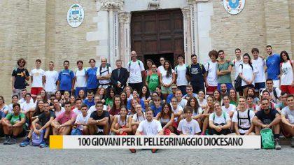 Cento giovani della nostra Diocesi in pellegrinaggio – VIDEO