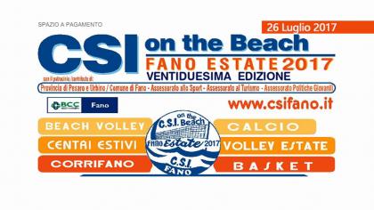 CSI ON THE BEACH Premiazioni 26 luglio 2017