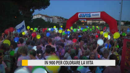 "In 900 per ""Colora la vita"", la corsa pro AVIS Fano – VIDEO"