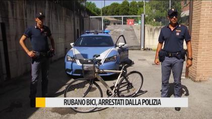 Rubano bici, arrestati dalla polizia – VIDEO