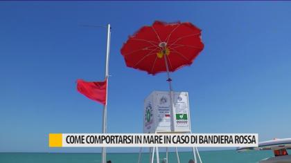 Come comportarsi in mare in caso di bandiera rossa – VIDEO