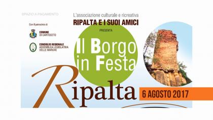 Il Borgo in Festa a Ripalta (6 agosto 2017)