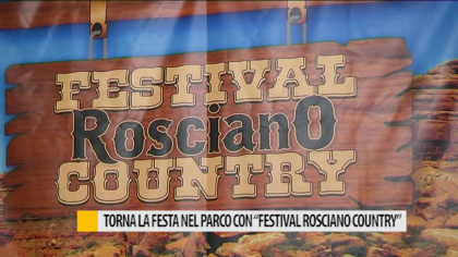 """Torna la festa nel parco con """"Festival Rosciano Country"""" – VIDEO"""