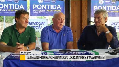 La Lega Nord di Fano ha un nuovo coordinatore: è Massimo Mei – VIDEO