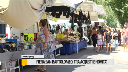 Fiera di San Bartolomeo – VIDEO