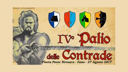 IV Palio delle Contrade (27 agosto 2017)