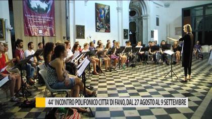 44^ incontro polifonico città di Fano 27 agosto 9 settembre – VIDEO