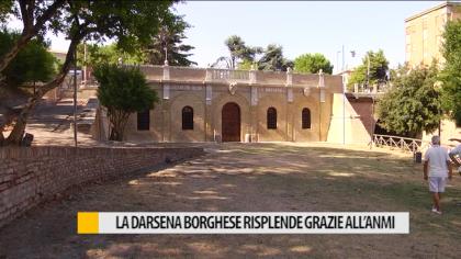 La Darsena Borghese risplende grazie all'ANMI di Fano – VIDEO