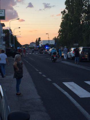 Grave un motociclista. Incidente in viale Piceno – VIDEO