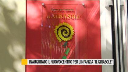 """Inaugurato il nuovo centro per l'infanzia """"IL GIRASOLE"""" a San Lazzaro di Fano – VIDEO"""