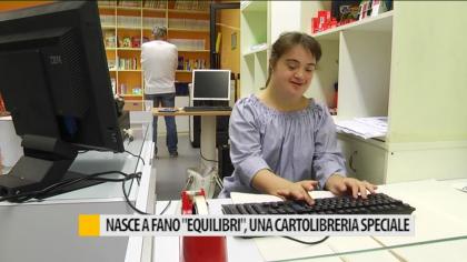 "Nasce a Fano ""Equilibri"" una cartolibreria speciale – VIDEO"